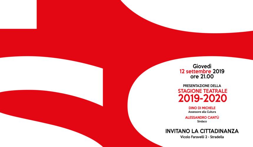 Presentazione nuova Stagione Teatrale 2019-2020